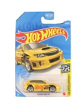 Hot Wheels 2021 HW Speed Graphics 2/10 Yellow Subaru WRX STI