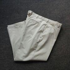 Men's Bass Premium Kahki Pleated Dress  Casual Pants 44 X 30