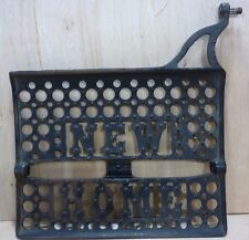 Old Cast Iron NEW HOME Sewing Machine Decorative Wall Art Machine Part 2