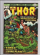 THE MIGHTY THOR #227 FN/VF  OW/WHITE PAGES MARVEL COMICS BRONZE AGE 1974