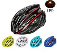 220g Ultralight LED Ciclismo Casco Bici Strada Professionale Caschi Bicicletta
