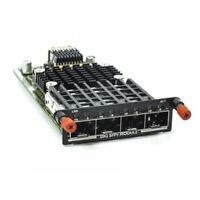 Dell Quad-Port SFP+ 10GbE PHP6J PC8100-10GSFP-R PowerConnect 8100 MXL Series