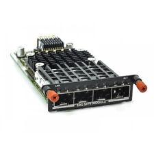 Dell Quad Port SFP + 10gbe php6j pc8100 -10 GSFP-R PowerConnect 8100 MXL Series