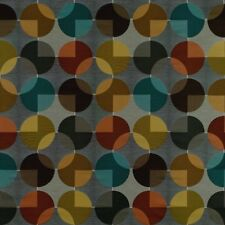 Arccom Compass Fog Large Abstract Contemporary Geometric Upholstery Fabric