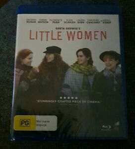 Little Women Blu-ray Region B Brand New Sealed