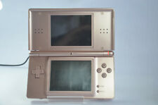 Nintendo DS Lite Handheld Console USG-001Metallic Rose Pink WORKING  NO BATTERY