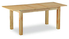 Regal Light Oak Compact Extening Dining Table / Extends to 165cm