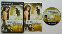 SingStar: Legends  PlayStation 2 PS2 Complete Game Works Tested -Very Good