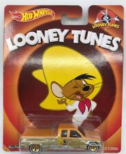 Hot Wheels LOONEY TUNES Speedy Gonzales CUSTOMIZED Chevy C3500 Real Riders MINT!