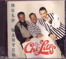 CHI-LITES Help Wanted CD Classic 60s Rock LOVE OF MY LIFE ALL MY LOVE HOLD ON