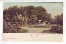 Norfolk Virginia Lafayette Park scene  1906 posting