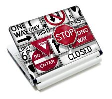 "Traffic Sign Laptop Netbook Sticker Skin Decal For 13.3"" 14"" 15.4"" 15.6"" Laptop"