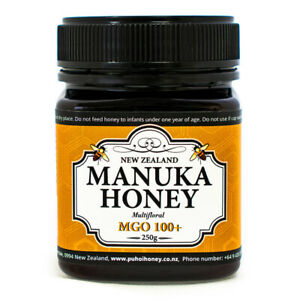 New Zealand 100% Pure Manuka Honey MGO 100+ 250g (8.8oz)