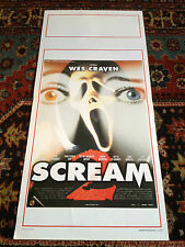 Scream 2 locandina poster Wes Craven David Arquette Neve Campbell Cox Horror