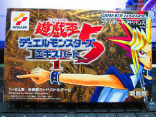 Yu-Gi-Oh Duel Monsters 5 Expert 1 (2001) New Boxed JAPAN Game Boy Advance GBA