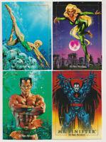Marvel Masterpieces 1992 Trading Card Lot Meggan Namorita Namor Mr. Sinister