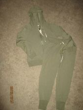 NEW Victoria's Secret  Hoodie Track Suit Sweatshirt Sweatpants LT HUNTER Green
