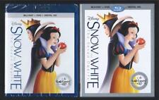 DISNEY SNOW WHITE AND THE SEVEN DWARFS BLU-RAY + DVD + DIGITAL HD *NEW SEALED*