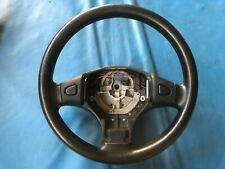 Rover 25 Black Leather Steering Wheel (Part #: QTB001110PMP)