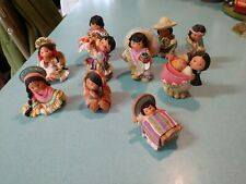 Lot Of enesco Friends Of The Feather 10 Figurines