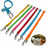 Strong Dual Coupler Pet Necklace 1 Lead 2 Way Nylon Metal Leash Easy Dogs Walk