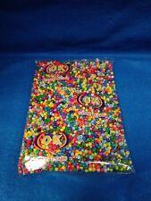 BEADS, CUENTAS multi color OSAIN 4mm 1-lbs religion yoruba santeria PALO ifa