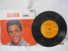 """ELVIS PRESLEY SINGS VINYL EP RECORD 7"""" PIC SLEEVE"""