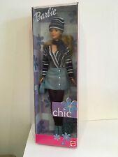 1999 Muñeca Barbie Chic Azul Cordoroy (Lote 3)