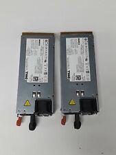 (2) Dell PowerEdge R510 T710 R910 Server 1100W Power Supply Unit 3MJJP TCVRR