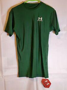 Under Armour HeatGear Men's Size XL Loose Green T-Shirt Compression