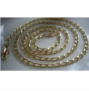 9CT GOLD GF CURB CHAIN HIGHEST QUALITY BUY WITH CONFIDENCE { 1