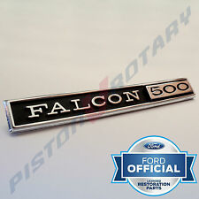 FALCON 500 Glovebox Badge ,Chrome, New, for FORD XY XT Falcon 351 GT Glove Box