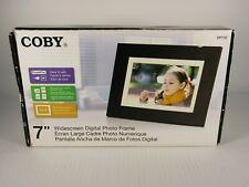 """Coby 7"""" Widescreen Digital Photo Frame new in box"""