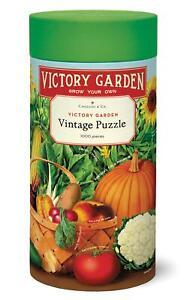 Cavallini - Vintage Jigsaw Puzzle - 1000 Pieces - 55x70cms - Victory Garden