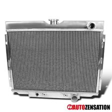 For 1967-1970 Mustang V8 3 Row Passenger Side 24'' Aluminum Radiator 1PC