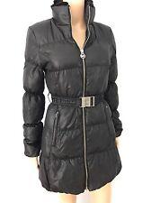 Women's Michael Michael Kors Black Goose Down Mink Collar Jacket Coat SZ XS $600