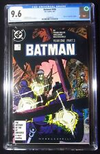 "Batman #406 (1987 DC) CGC 9.6...""Year One"" Part 3...Frank Miller story"