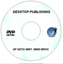 Scribus Desktop Publishing 2019 Publisher Software for MS Microsoft Windows DVD