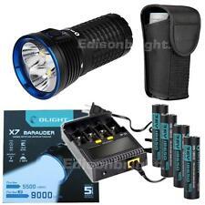 Olight X7 Marauder 9000 Lumen LED Flashlight Neutral White Kit batteries/charger