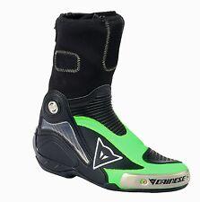 Motocicleta botas talla 44 Dainese R axial pro en negro/verde-fluo nuevo racingstiefel