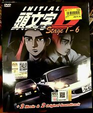 INITIAL D Collection (Stage 1 - 6 + 2 Movie + 2 Original Soundtrack) ~All Region