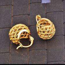 Vintage Womens lucky Ear Hoop earrings jewelry cute bag earings free shipping