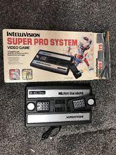 Intellivision Super Pro System Very Rare Consol Video Game In Box Model 3504