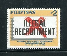 Philippines 2310,  MNH, National Anti-Illegal Recruitment Consciousness Year