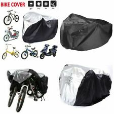Waterproof Bicycle Storage Cover Rain Dust Sun Protector Outdoor For 1/2/3 Bikes