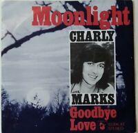 "CHARLY MARKS⚠️7""-1973-Moonlight/Goodbye Love-HANSA 13396 AT- Germany"