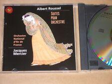 CD / JACQUES MERCIER & ORCHESTRE ILE DE FRANCE JOUENT ALBERT ROUSSEL / TB ETAT