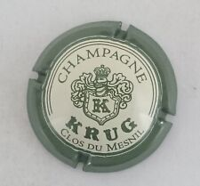 capsule champagne KRUG n°39a clos du mesnil 32mm krug lettres normales