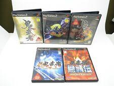 Onimusha 1 2 3 Buraiden Dawn Von Dreams Oni Musha PS2 PLAYSTATION 2 F/S Japan