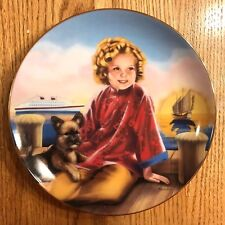 Danbury Mint Shirely Temple plate Stowaway Plate # A1697 1991 Limited Ed